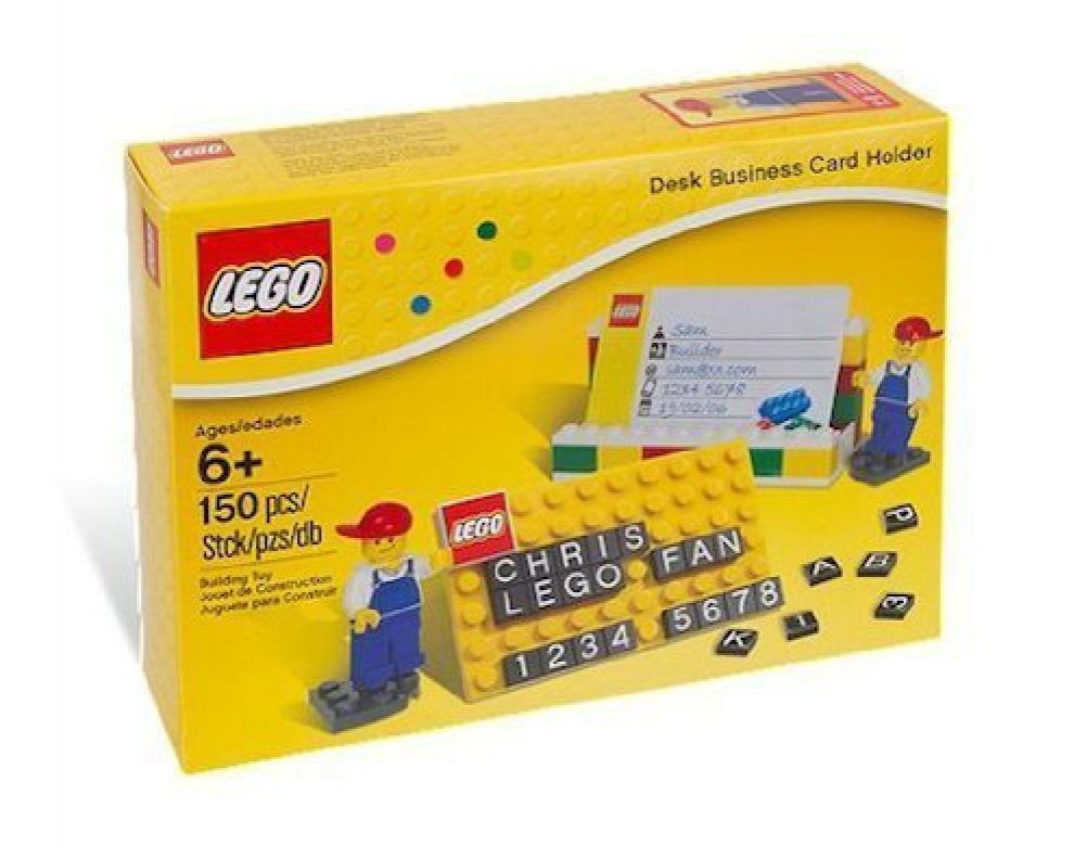 Amazon.com: LEGO Desk Business Card Holder (850425): Toys & Games