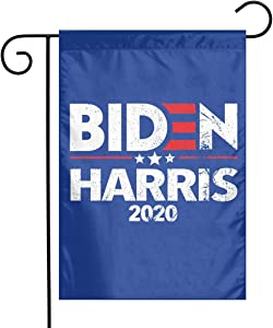Larerh Biden Harris Garden Flag Double-Sided 12x18 Inch Durable and Fade Resistant,Perfect for Any Balcony Or Courtyard, Garden Decorative