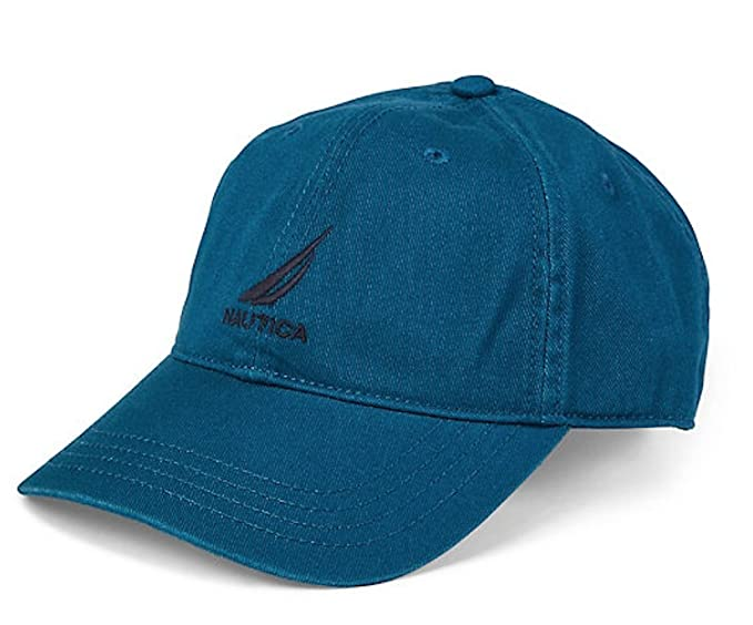 Nautica Men Adjustable Logo Hat Cap: Amazon.es: Ropa y accesorios