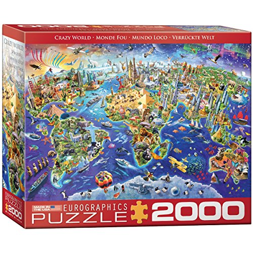 EuroGraphics (EURHR Crazy World 2000Piece Puzzle 2000Piece Jigsaw Puzzle ()