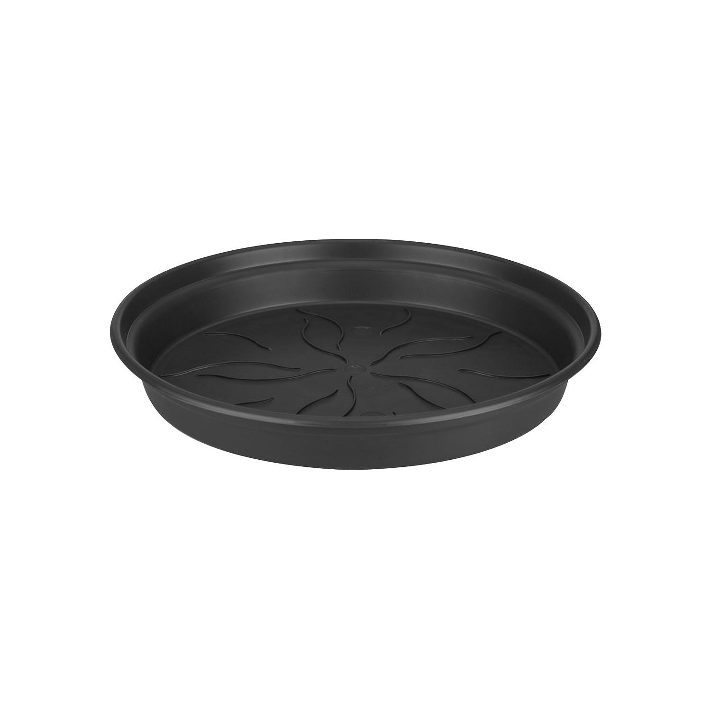 Elho green basics saucer 10cm saucer - cotton white 6990221045300