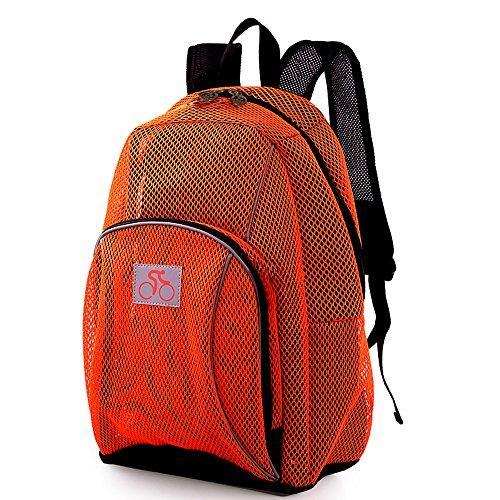 Epokris Nylon Fitness Backpack Traveling Bag Climbing Bag Mesh Cycling Bag 145 -
