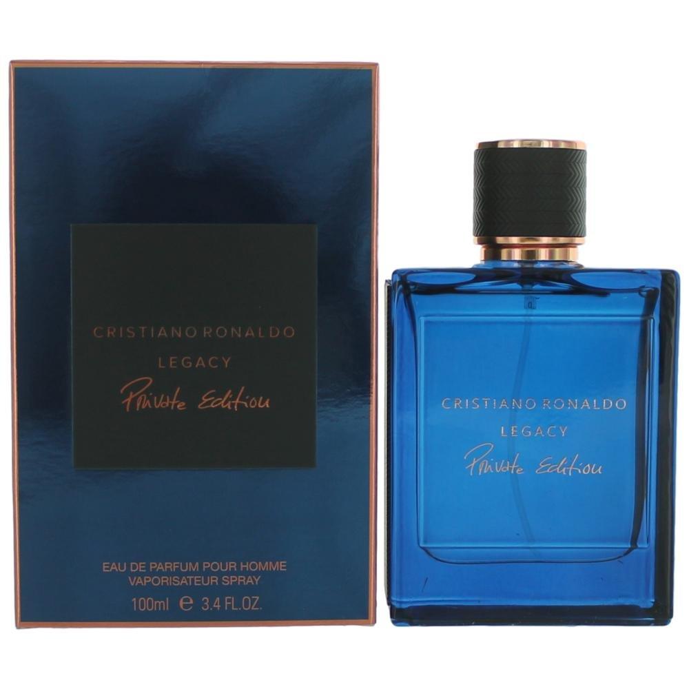 Cristiano Ronaldo Legacy Private Edition for Men Eau de Parfum Spray 3.4 Ounces