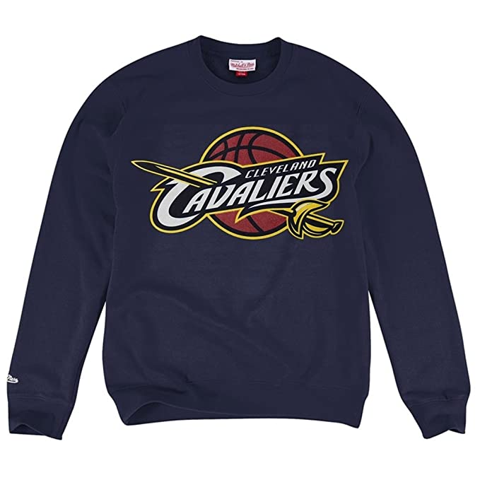 Mitchell & Ness Cleveland Cavaliers Actual de la NBA Sudadera Azul Marino