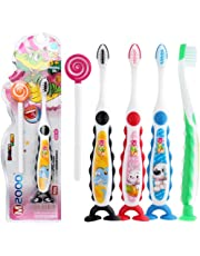 Evokems 1PCS Color al Azar Cepillo de Dientes Suave Pelo Cartoon Handle Cute Kids Toothbrush Cepillos