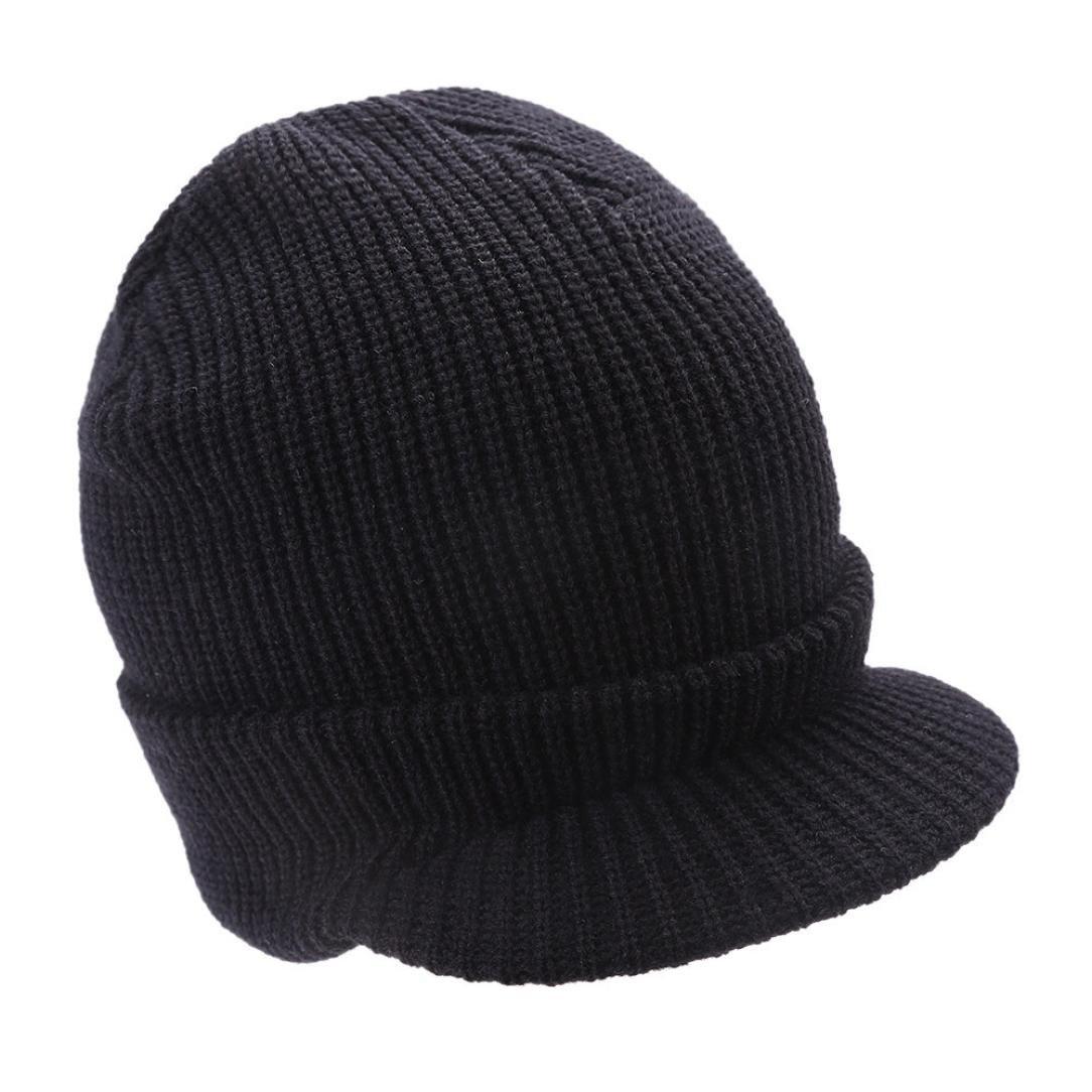 Changeshopping Fashion Women Hat Winter Skullies Beanies Knitted Hats Rabbit Fur Cap (Black) Changeshopping 5464 Changeshopping510