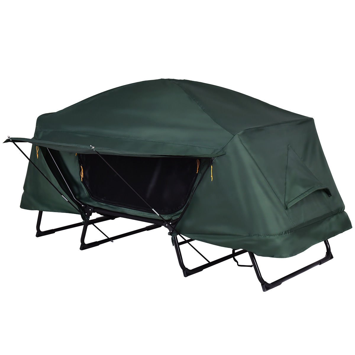 Tangkula Tent Cot Folding Waterproof 1 Person Hiking Camping Tent with Carry Bag by Tangkula (Image #5)