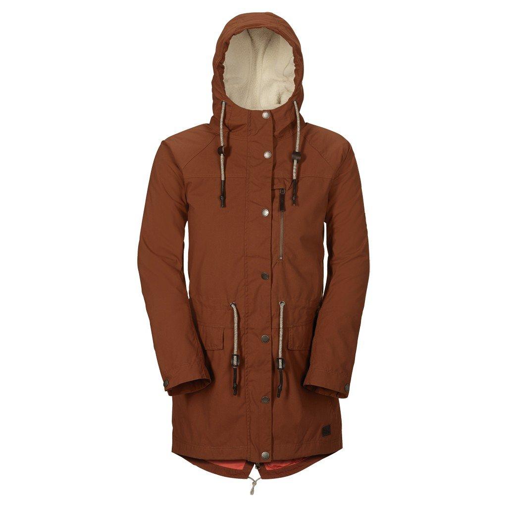 neueste auswahl Outlet-Verkauf ziemlich billig Jack Wolfskin W Dunville Texapore Parka - Brown Leaves - XL ...