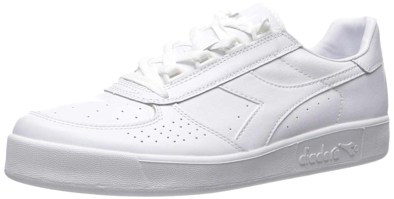 Diadora Men's B.Elite Court Shoe B019ZENZR6 11 D(M) US|White/Optical/White Pristine