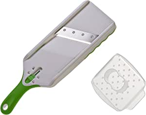 Progressive 55222 Slice Mandoline, White/Green