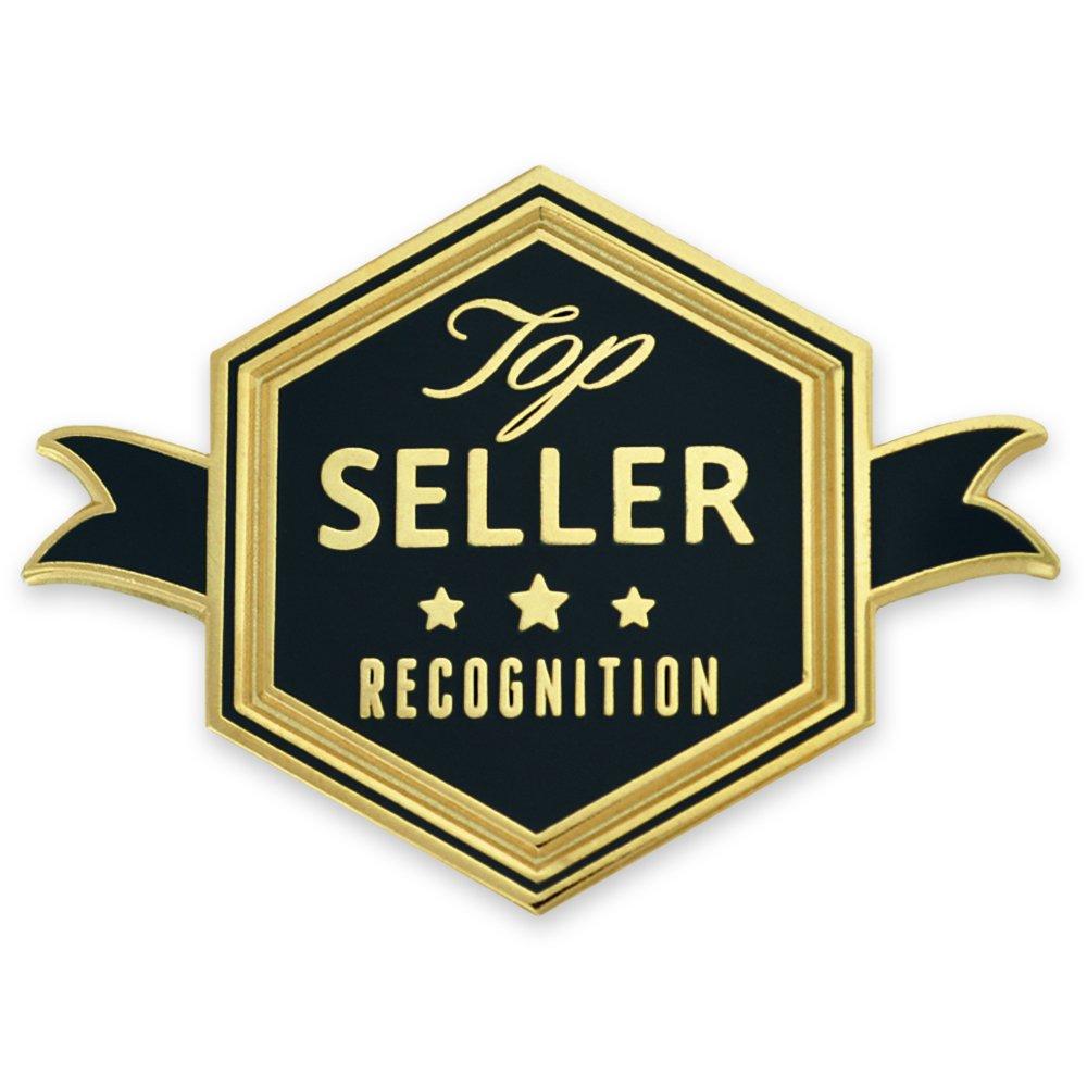 PinMart's Top Seller Employee Recognition Enamel Lapel Pin