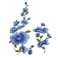 Youkara Lotus Serie de Pegatinas de Tela