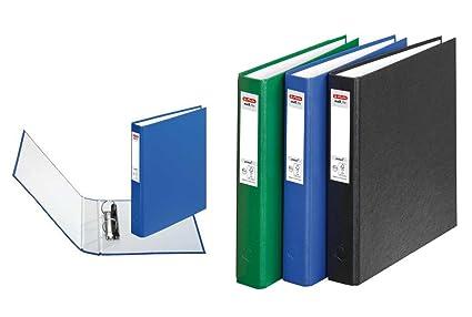 3 Herlitz Anillo libros/DIN A5 archivador con 2 anillas en ...