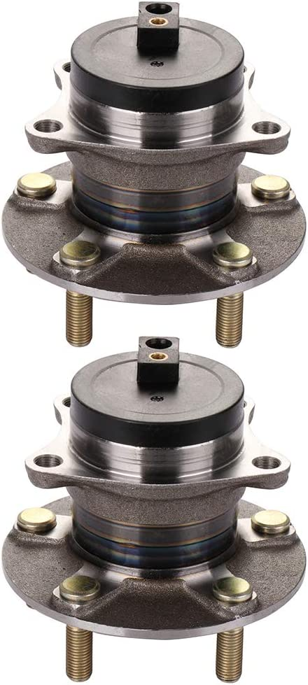 PAIR 2007-2012 MAZDA CX-7 Front Wheel Hub Bearing