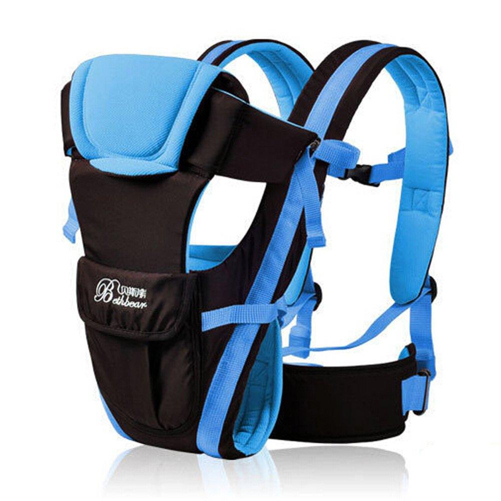 0–30mois respirant à l'avant Porte-bébé 4en 1bébé confort Sac à dos Sling Pouch Wrap pour bébé FENGRUIUI