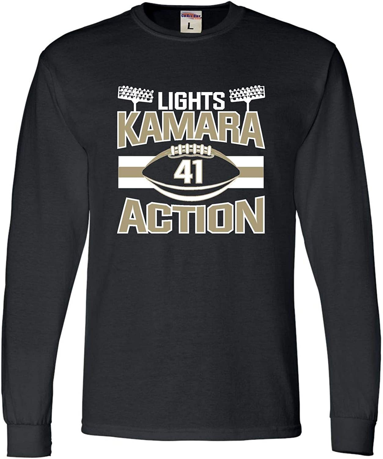 Go All Out Adult Lights Kamara Action Long Sleeve T-Shirt