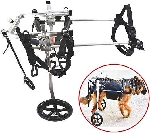 WXLJJYPD Ajustable para Silla de Ruedas para Perro, Mascotas, 2 ...