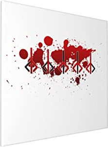 Canvas Prints Wall Art Paintings(20x20in) Bloodborne Hunter Mark Pictures Home Office Decor Framed Posters & Prints