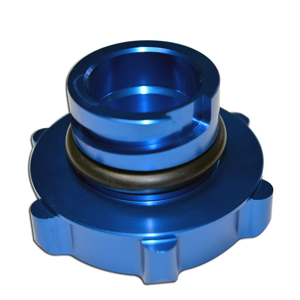 VMS Racing BLUE OIL CAP L76 6.0L in Billet Aluminum Compatible with Pontiac GT G8 V8 08-09 2008-2009