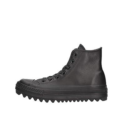 Converse Damen 559916 Chuck Taylor As Lift Ripple Sneaker, Schwarz