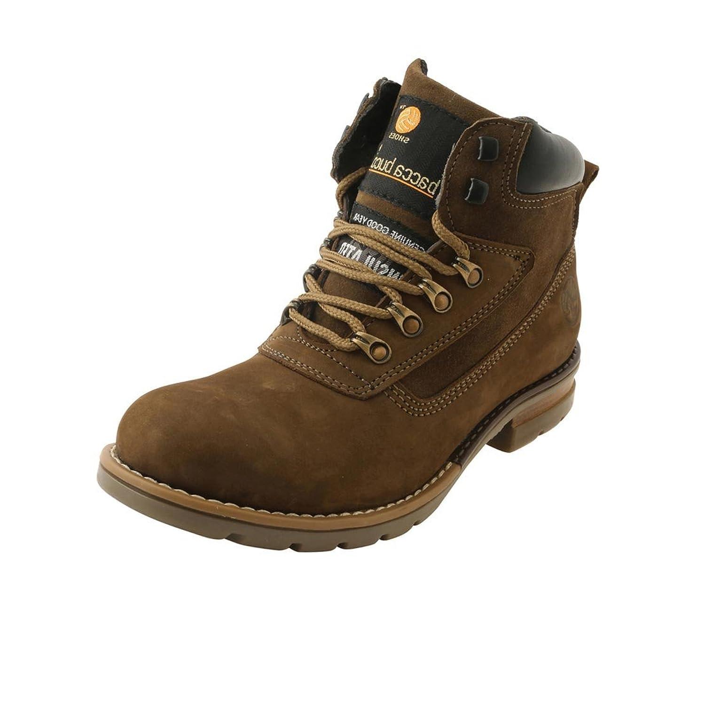 Bacca Bucci Men's Genuine Leather Nubuck Boots