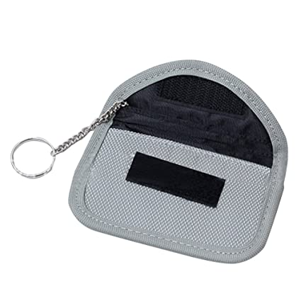 f41c5ecd76d4 Junda Faraday Bag for Keyfobs Signal Blocking Bag Shielding Pouch Wallet  Case for Cell Phone Privacy Protection and Car Key FOB