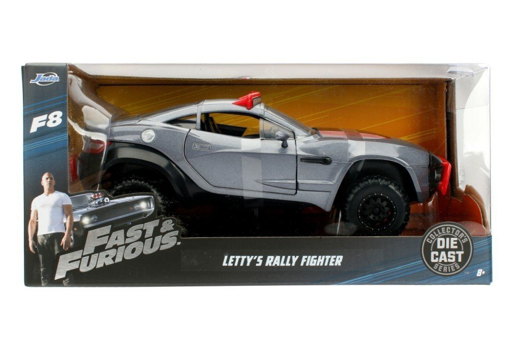 Jada Toys Fast Furious 8 Diecast Letty's Rally Fighter Vehicle 1 24 Scale