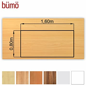 BÜMÖ Stable Wooden Table Top Cm Thick DIY Desk Top Office - Thick wood table top