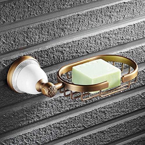 HXC-HXC 衛生陶器のアンティーク銅のバスルームアクセサリーソープディッシュホルダー化粧石鹸箱のバスルームアクセサリー携帯電話ホルダーアクセサリー せっけん