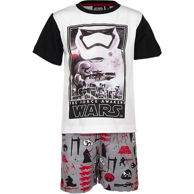Star Wars – Pijama Juego 2pz Camiseta y Pantalón – Niño – , novedad, producto