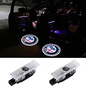 Car Door Light Welcome Projector Ghost Shadow Light For Alfa Romeo Stelvio Mito Giulietta Giulia Brera 2 Pack