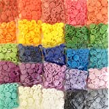 500 KAMsnaps 25-Color Lead-Tested KAM Snaps Plastic Resin Industrial Snaps Size 20 (1/2