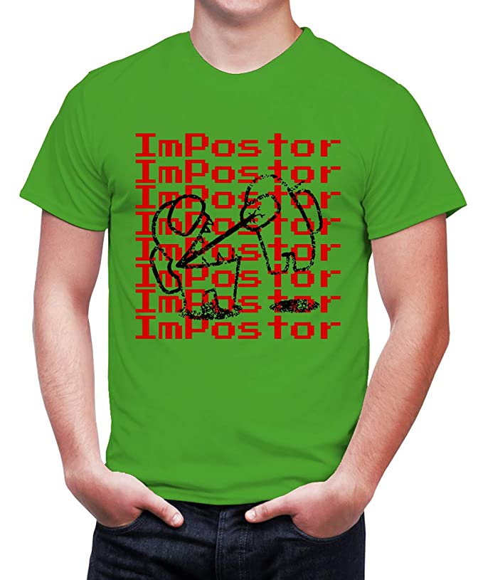Caseria Men's Cotton Graphic Printed Half Sleeve T-Shirt - Killer Impostor