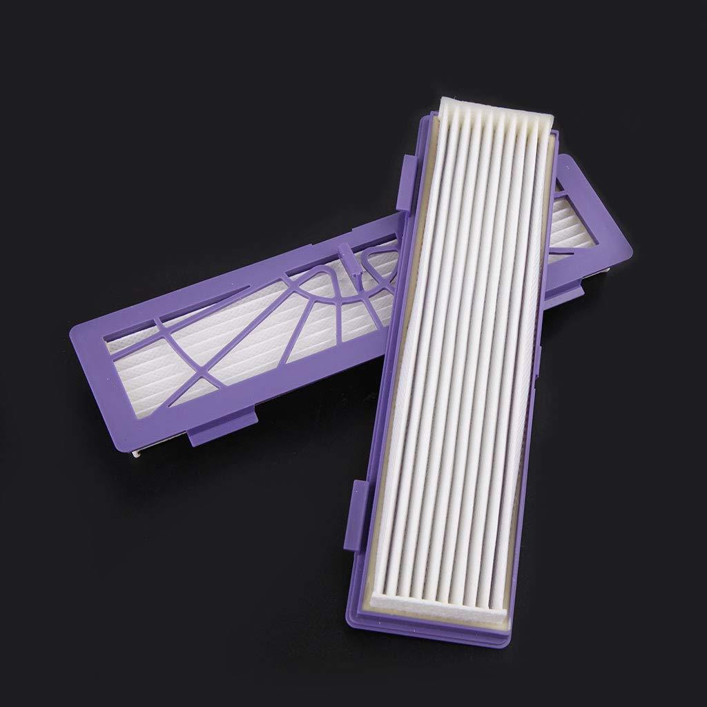 Junlinto 10 filtri HEPA per Neato Botvac D7 D80 D85 D3 D75 D5 70e 75 80 Aspirapolvere