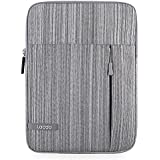iPad Pro 10.5 Case, Lacdo Tablet Sleeve Case for 10.5 Inch iPad Pro | 9.7 inch New iPad | iPad Air 2 | iPad 4, 3, 2 | Samsung Galaxy Tab 10.1 Inch Protective Travel Pouch Bag Water Repellent, Gray