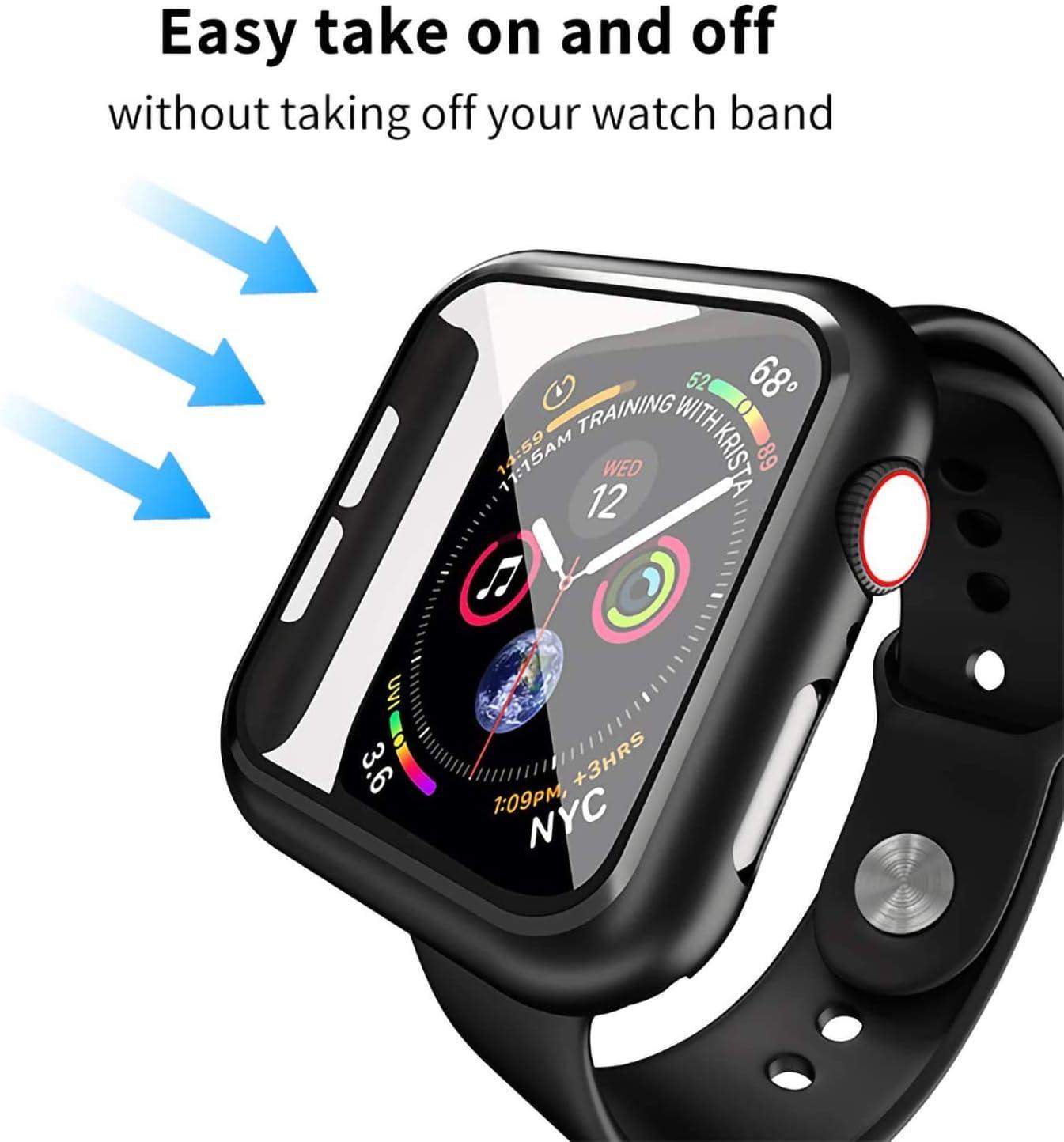 Funda para  Apple Watch Series 6 / SE/4/5 Negra