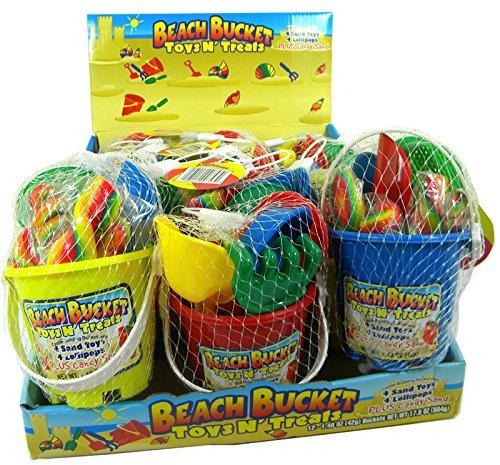 Beach Bucket Toys N' Treats: 12 -
