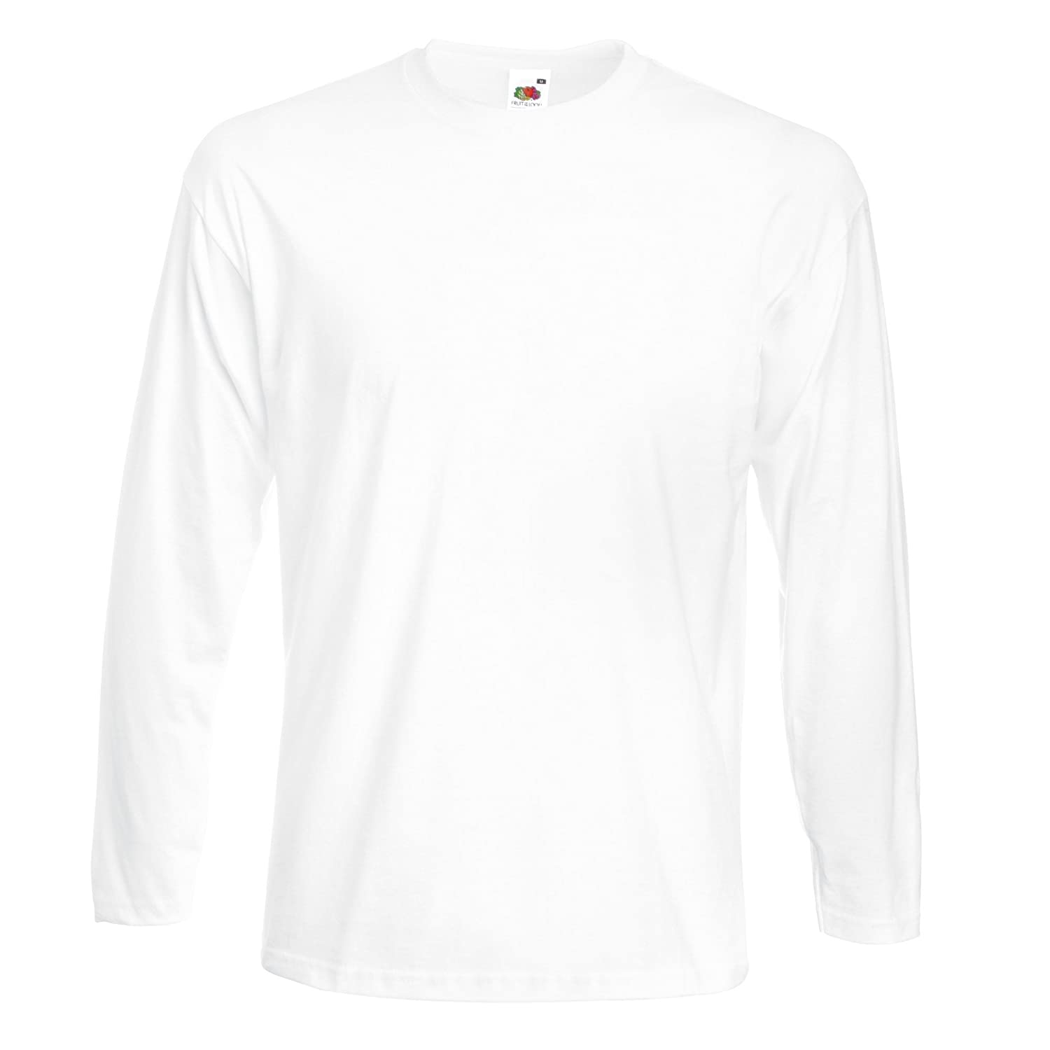 Fruit Of The Loom Super Premium Long Sleeve Softer Feel Gurantee Perform T-Shirt