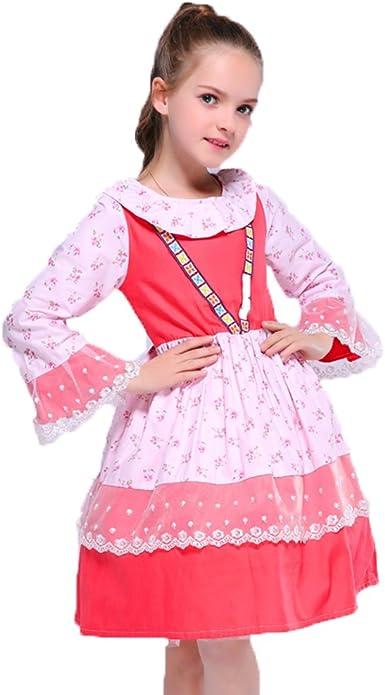 Kseniya Kids Little Girls Summer Animal Casual Dress