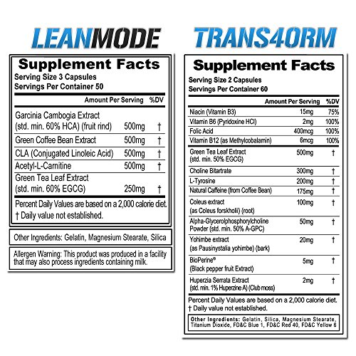 Evlution-Nutrition-Trans4ormation-Mode-Stack-Trans4orm-60-Serving-Lean-Mode-50-Serving-Weight-Loss-Diet-Kit