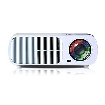 UHAPPY Mini LED Proyector 20.000 horas de vida de la lámpara 1080P ...