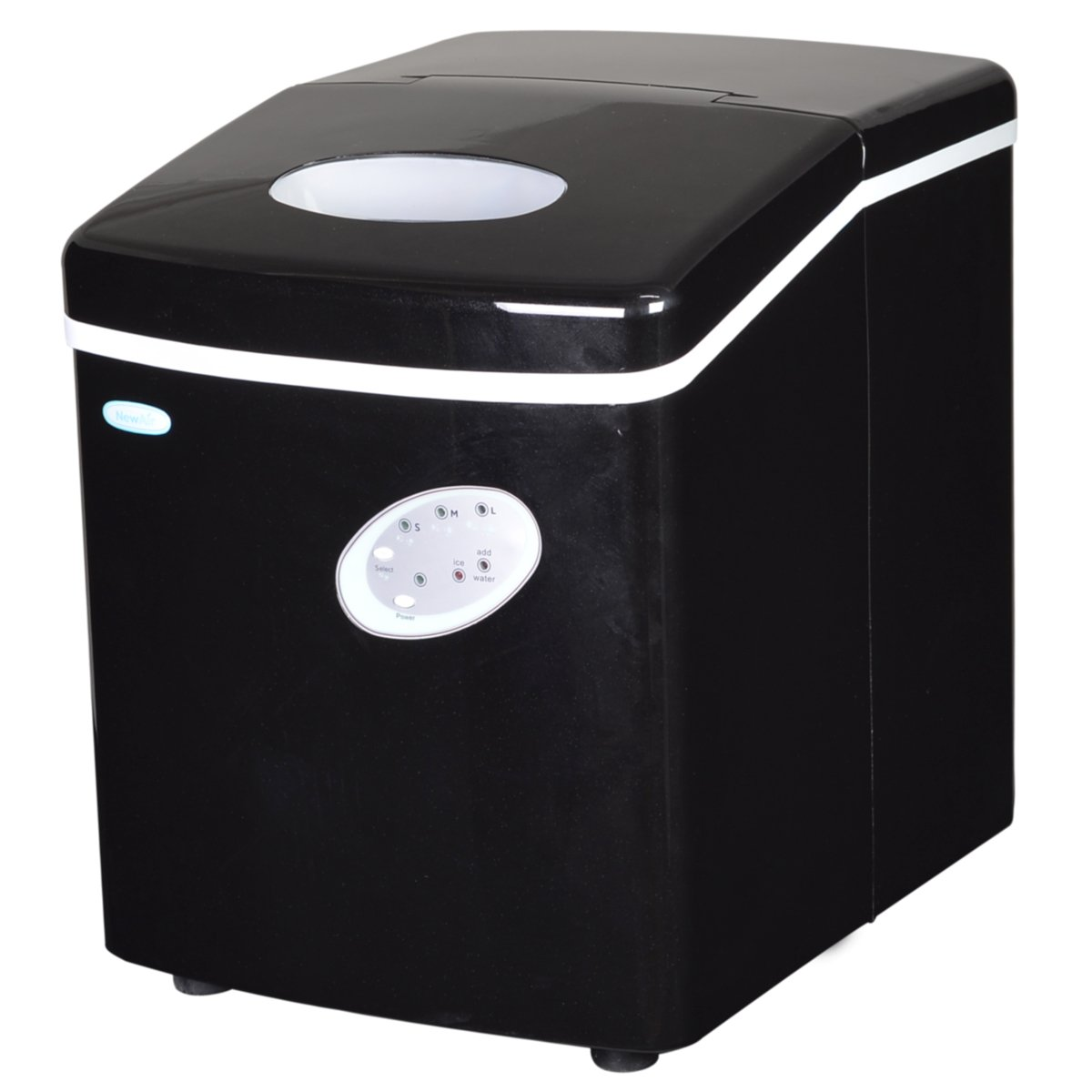 Newair Ai-100Bk 28-Pound Portable Ice Maker Black 20