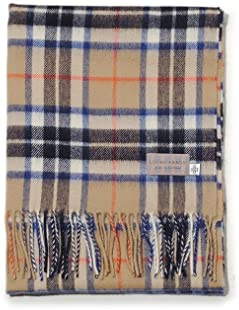 Lochcarron of Scotland Tartan Scarf: Camel Thompson