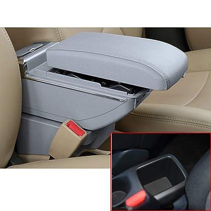 8970d75e Amazon.com: MyGone for Nissan Kicks Car Center Consoles USB Armrest ...