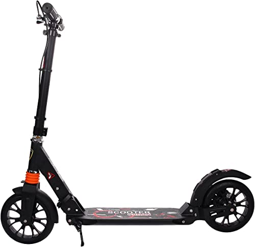 The Gymax kick scooter for heavy adults