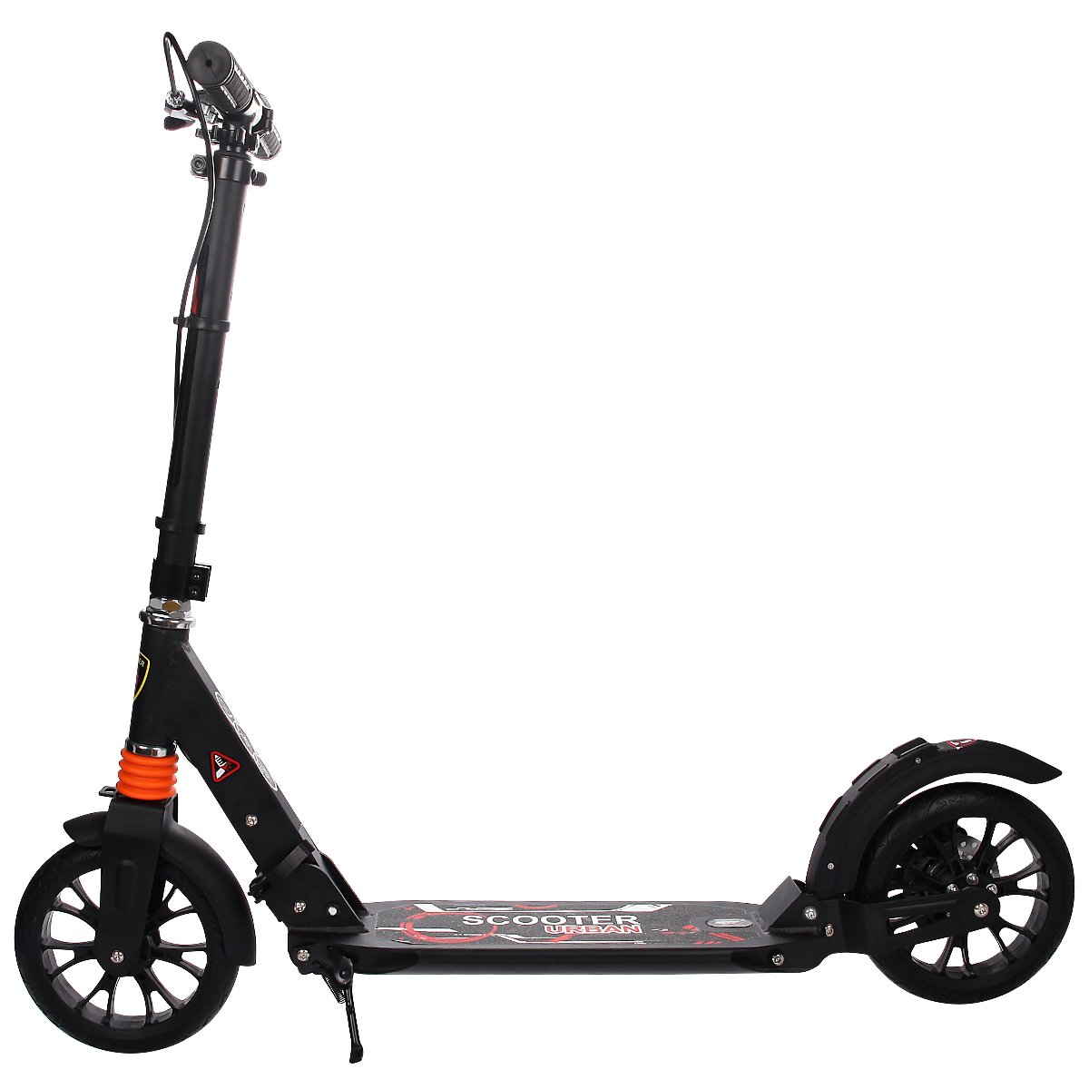 GYMAX Folding Kick Scooter for heavy adults