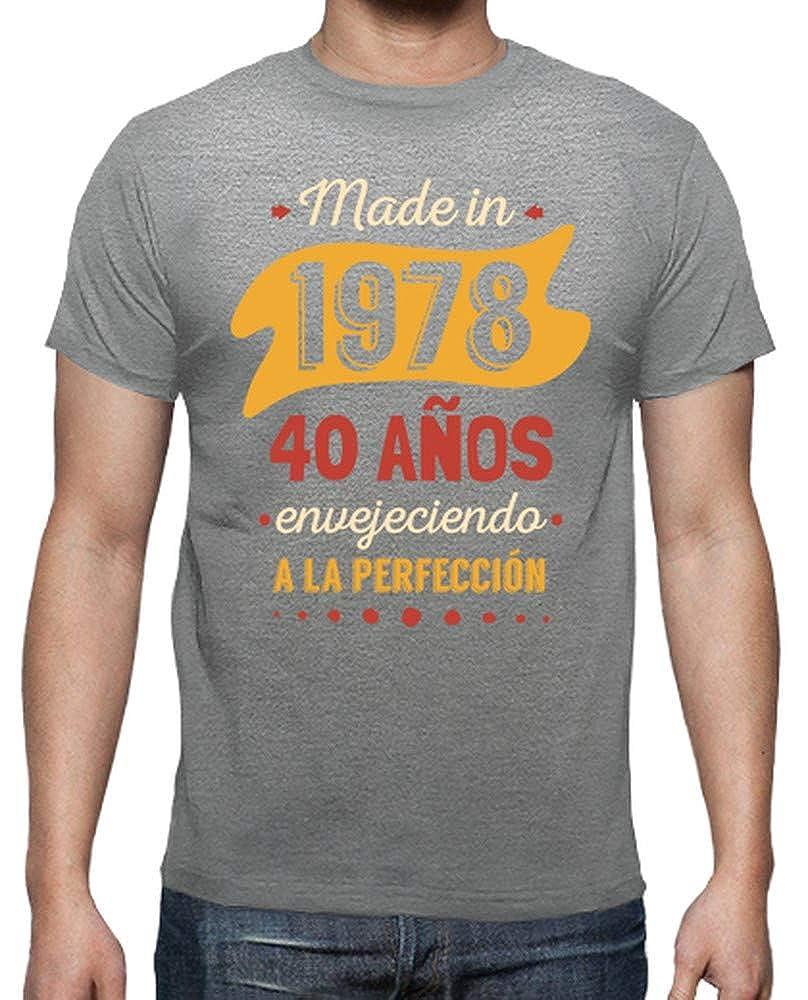 latostadora - Camiseta 40 Anos para Hombre: Amazon.es: Ropa ...