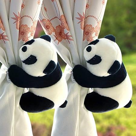 GQMG - Alfiler de Corbata para Cortinas, Panda, de cartón Animado ...