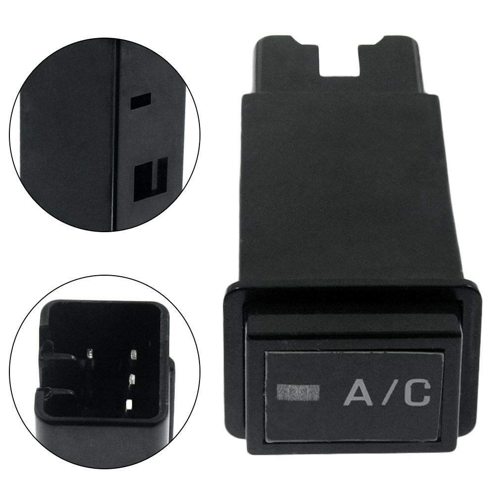 Machine Supplies Black A//C AC Switch Button Compatible for Toyota Pickup T100 Tacoma 4Runner RAV4 951017 Hot