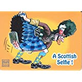 Fridge Magnet Scottish Cartoonist Graham High - Scottish Credit card
